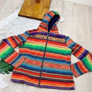 Lauren Ralph Lauren Striped Hooded Sweatshirt 1837